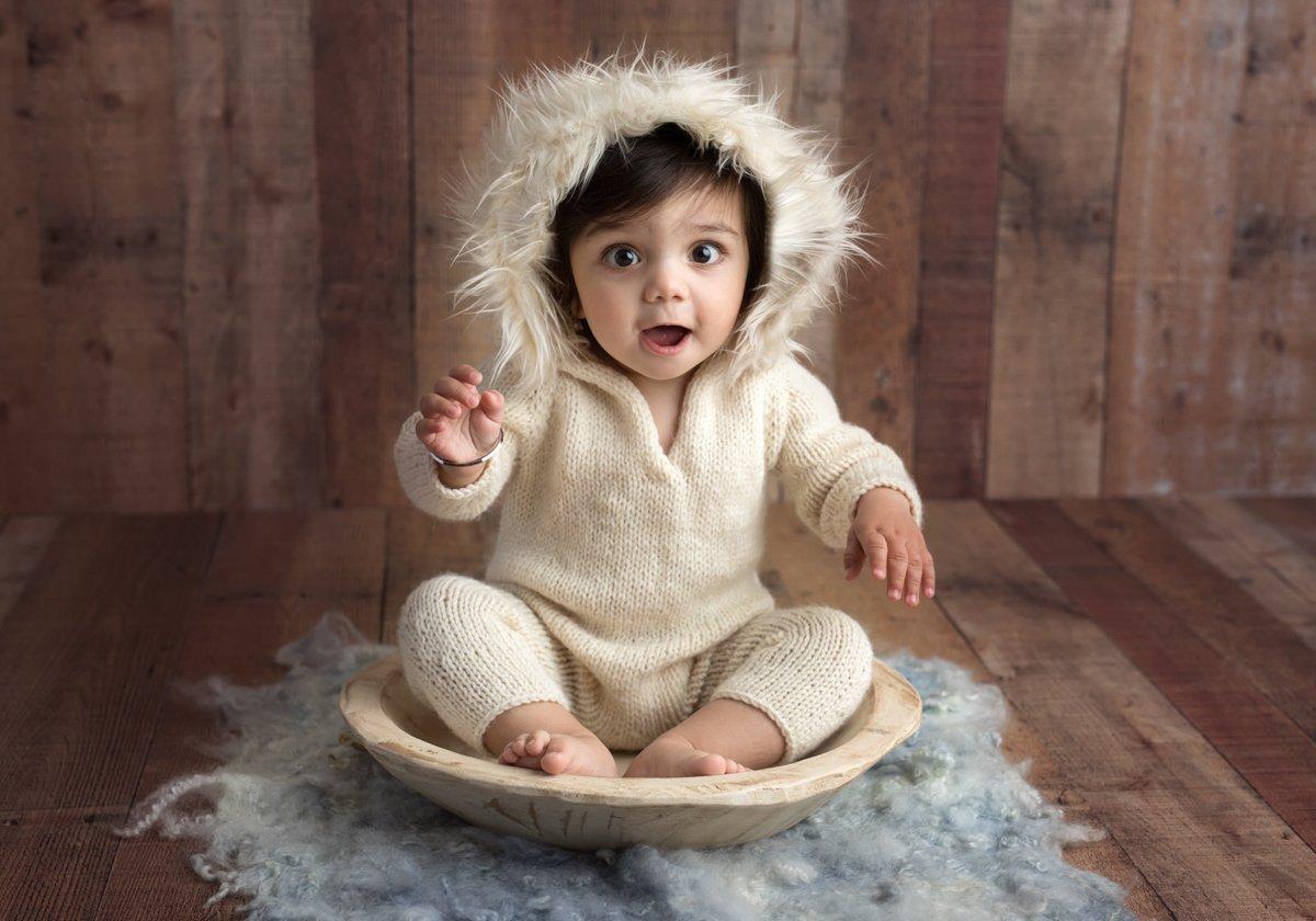 san francisco baby photo shoot