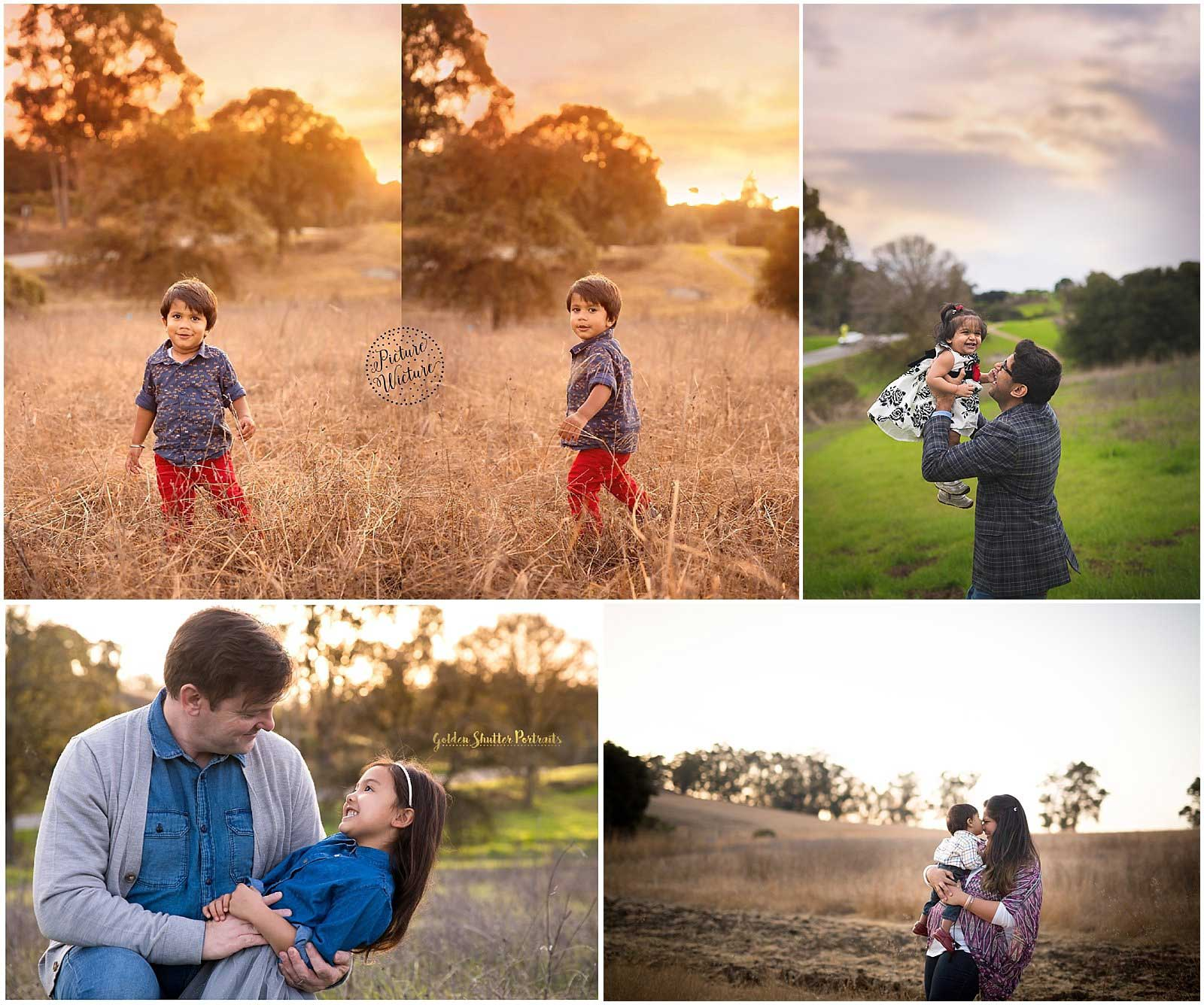 Family portraits in Arastradero Preserve