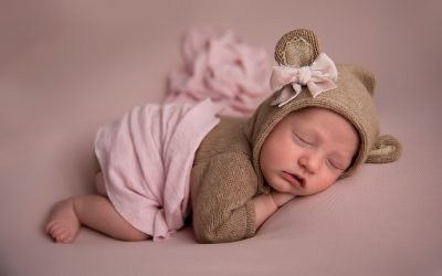 Baby Bear | San Mateo Newborn Photographer
