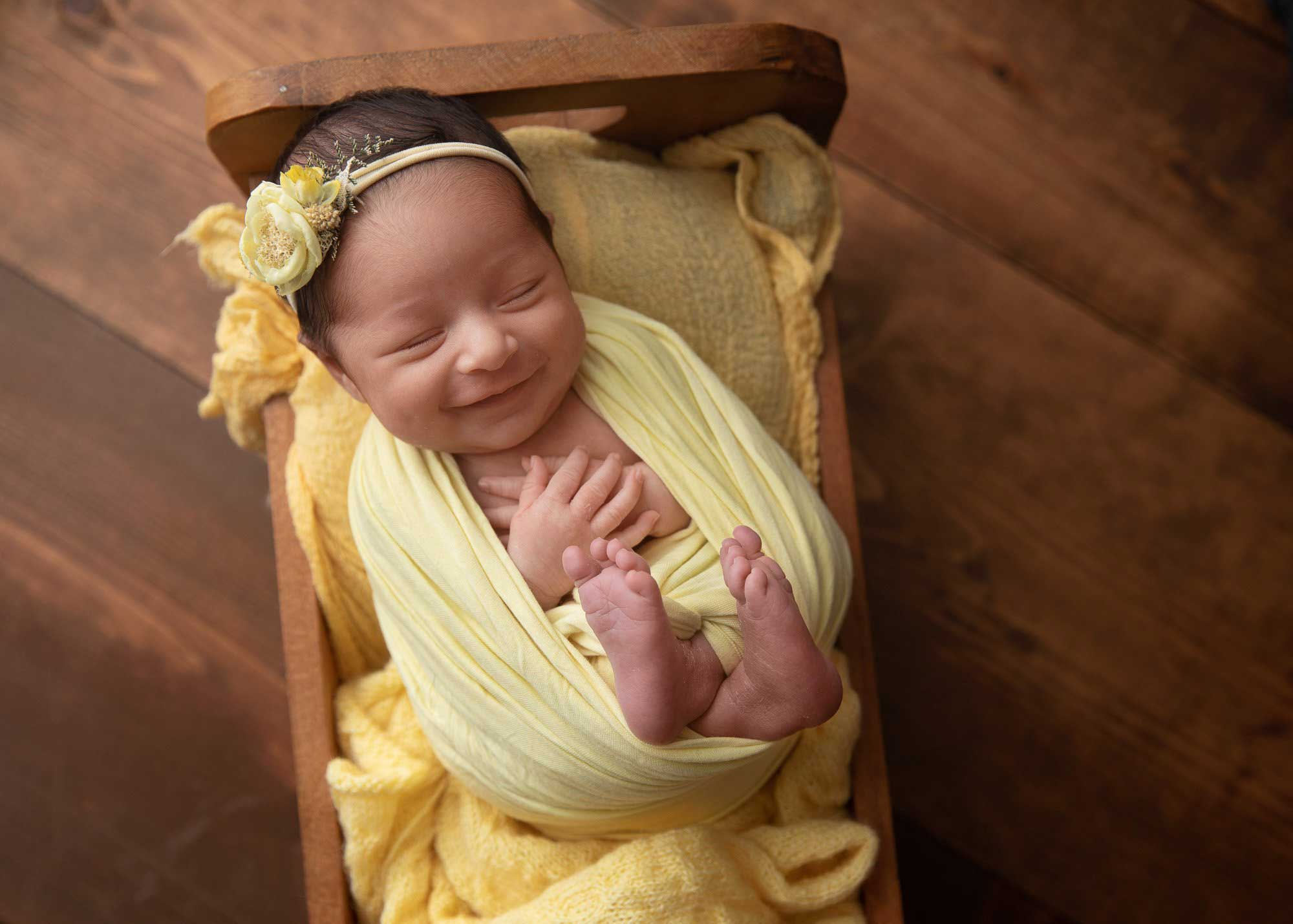 Newborn photography in San Mateo